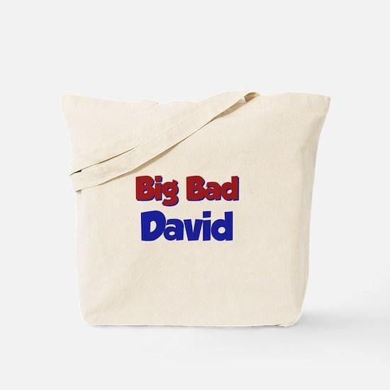 Big Bad David Tote Bag