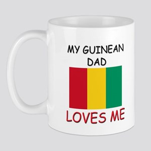 My GUINEAN DAD Loves Me Mug