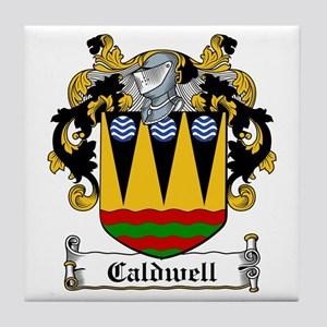 Caldwell Coat of Arms Tile Coaster
