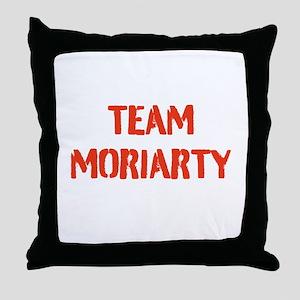Team Moriarty Throw Pillow