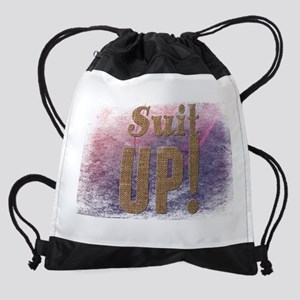 Suit up! Drawstring Bag