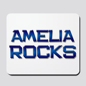 amelia rocks Mousepad