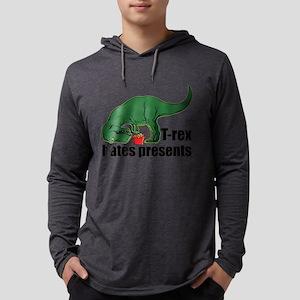 T-rex hates presents Long Sleeve T-Shirt
