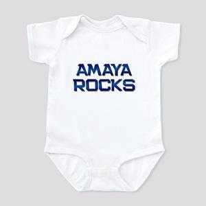 amaya rocks Infant Bodysuit