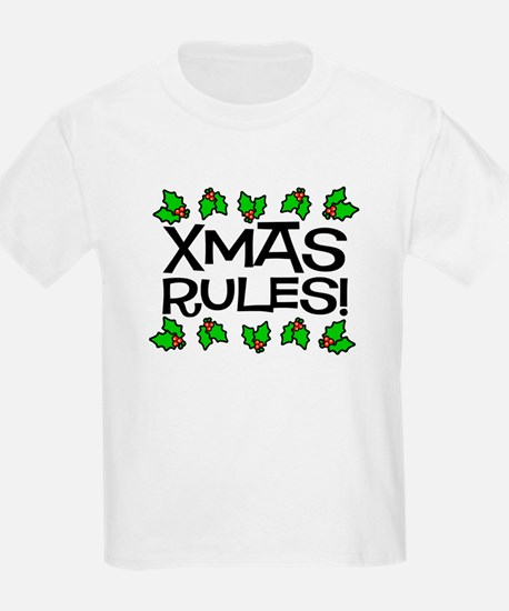 Xmas Rules Kids T-Shirt