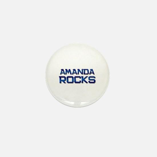 amanda rocks Mini Button