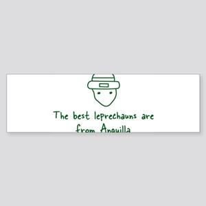 Anguilla leprechauns Bumper Sticker