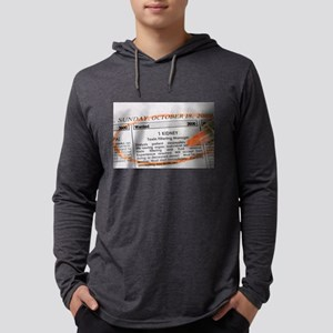 Wanted: 1 Kidney Long Sleeve T-Shirt