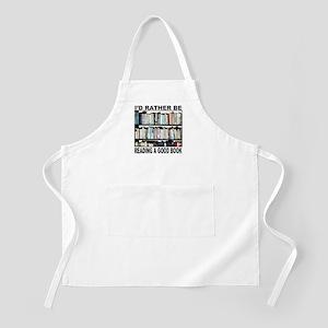 BOOK LOVER BBQ Apron