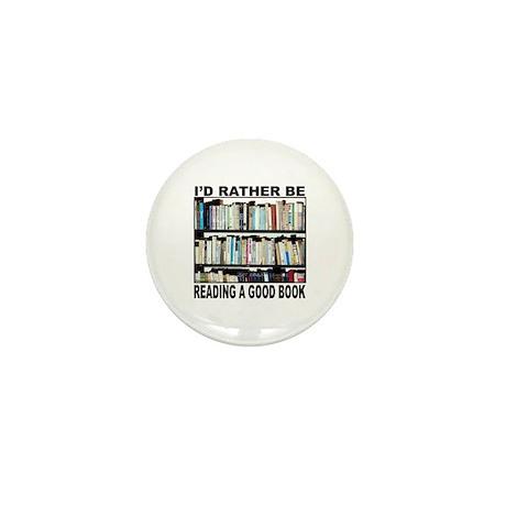 BOOK LOVER Mini Button (100 pack)