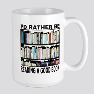 BOOK LOVER Large Mug