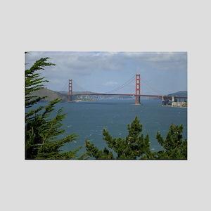 bay area bridge Rectangle Magnet