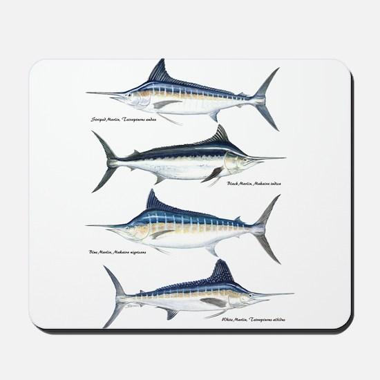 4 Marlin Mousepad