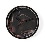 Cat in dreams Wall Clock
