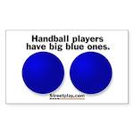 Big Blue Sticker