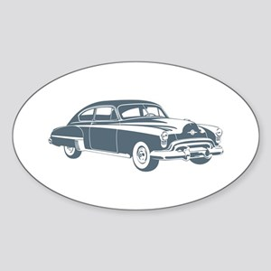 1949 Oldsmobile Rocket 88 Oval Sticker