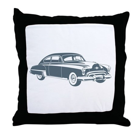 1949 Oldsmobile Rocket 88 Throw Pillow