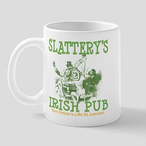 Slattery's Irish Pub Personalized Mug