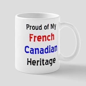 french canadian heritage 11 oz Ceramic Mug
