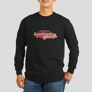 1958 Plymouth Fury Long Sleeve Dark T-Shirt