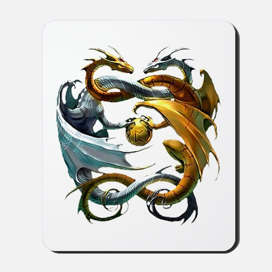 Battle Dragons Mousepad