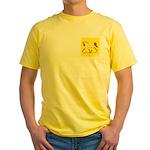 Dressage Trot Appaloosa Yellow T-Shirt