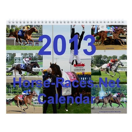 2013 Horse Racing Calendar