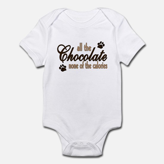 All the Chocolate Infant Bodysuit