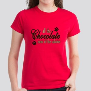 All the Chocolate Women's Dark T-Shirt