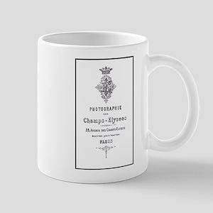 PARIS PHOTOGRAPHIE CHAMPS - ELYSEES Mug