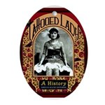 The Tattooed Lady Vintage Advertising Print Oval O