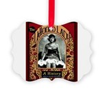 The Tattooed Lady Vintage Advertising Print Pictur