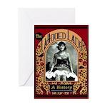 The Tattooed Lady Vintage Advertising Print Greeti