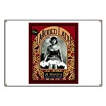 The Tattooed Lady Vintage Advertising Print Banner