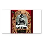 The Tattooed Lady Vintage Advertising Print Sticke