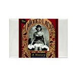 The Tattooed Lady Vintage Advertising Print Magnet