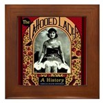 The Tattooed Lady Vintage Advertising Print Framed