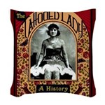 The Tattooed Lady Vintage Advertising Print Woven