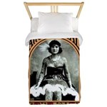 The Tattooed Lady Vintage Advertising Print Twin D