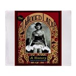 The Tattooed Lady Vintage Advertising Print Throw