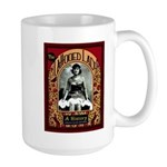 The Tattooed Lady Vintage Advertising Print Mugs
