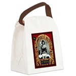 The Tattooed Lady Vintage Advertising Print Canvas