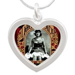 The Tattooed Lady Vintage Advertising Print Neckla