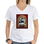The Tattooed Lady Vintage Advertising Print T-Shir