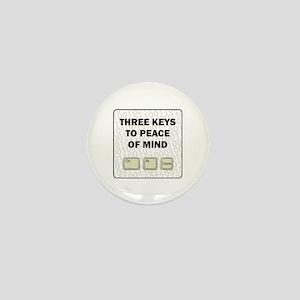 Peace Of Mind Mini Button