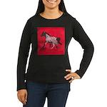 Western Stock Appaloosa Women's Long Sleeve Dark T