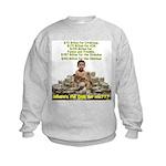 Where's the ONE for me? Kids Sweatshirt