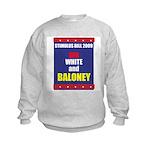 Red White & Baloney Kids Sweatshirt