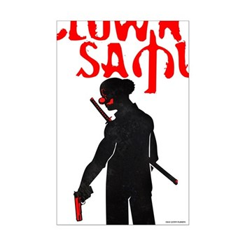 Clown Samurai Poster