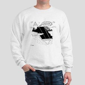 Navy Cartoon 9507 Sweatshirt